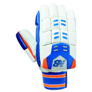 NB DC 680 Glove, Blue with Orange