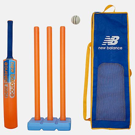 New Balance Plastic Outdoor Cricket Set, 8DCBOXPBOG image number null