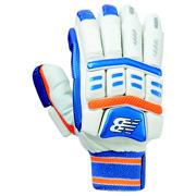 New Balance DC Hybrid Glove Junior, Blue with Orange