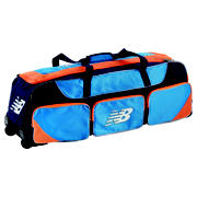New Balance Pro Wheelie Bag, Blue with Orange