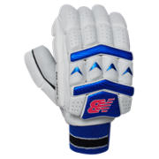 New Balance Burn Glove, Pink with Blue & Black