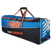 New Balance DC680 Club Wheelie Bag, Blue with Black & Orange
