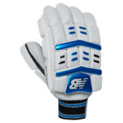 New Balance DC Hybrid Glove, Blue with Black