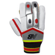 New Balance TC 360 Glove Junior, Red with Black