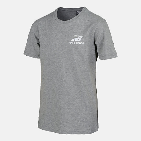 New Balance Boys Chest Logo Tee, ABT83502AG