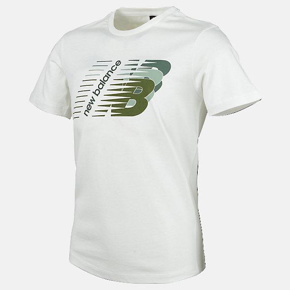 New Balance Boys Essentials Three N'S Tee, ABT91588WT