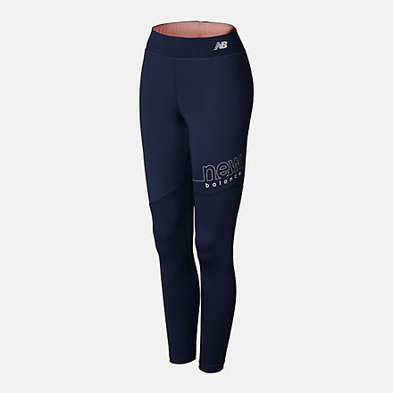 New Balance GIRLS FAST FLIGHT 7/8 TIGHT, AGP113155ECL image number null