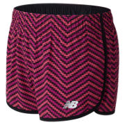 New Balance Hot Shots Girls 2 in 1 Short, Black Multi