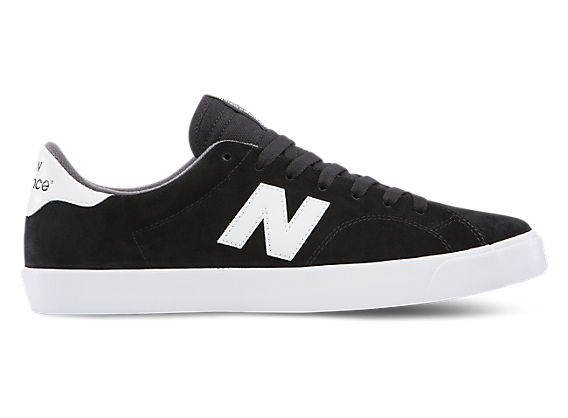 New Balance Skate Style Skate Shoes - New Balance AM210 Skate Shoes - Black/White