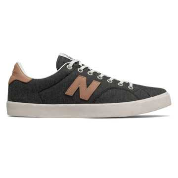 New Balance 210, Black with Tan