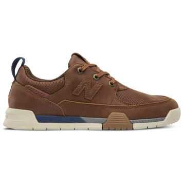 save off 00539 baa88 New Balance All Coasts 562, Brown with Navy