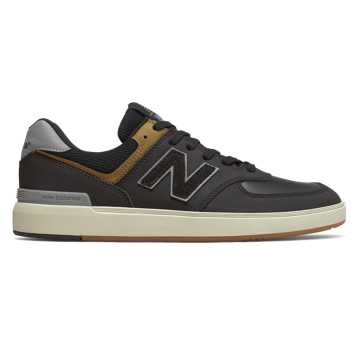 New Balance AM574, Black with Grey