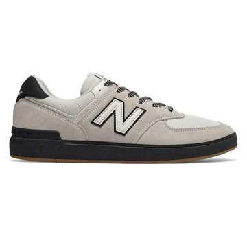 New Balance All Coasts 574, Light Aluminium with Black