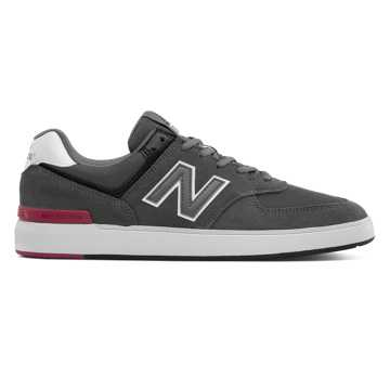 New Balance All Coasts 574, Grey with Black