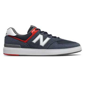 New Balance All Coasts 574, Navy with White
