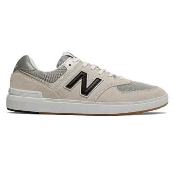 New Balance All Coasts 574, Sea Salt with Black