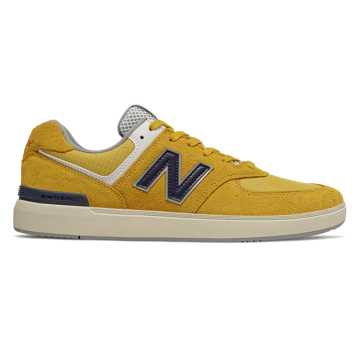 New Balance All Coasts 574, Sunflower with Navy