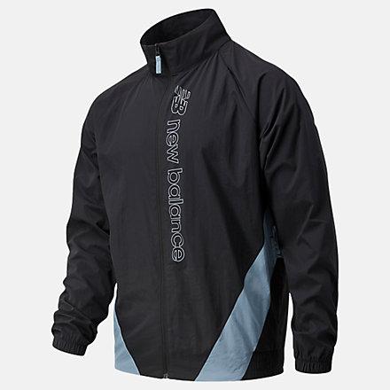 New Balance NB Sport Style Optiks Jacket, AMJ11503BK image number null