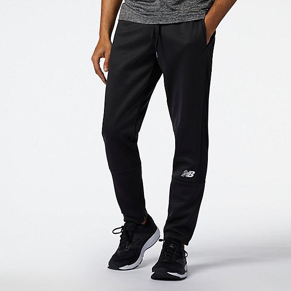 New Balance 男款速干针织运动裤, AMP11091BK