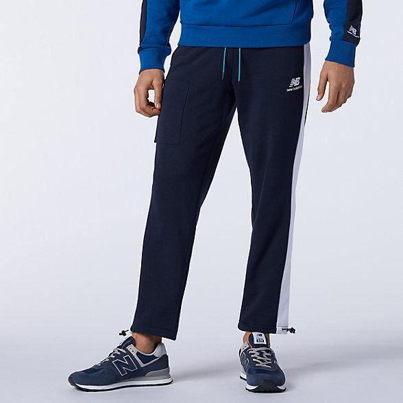 New Balance 男款经典抓绒运动裤, AMP11501ECL