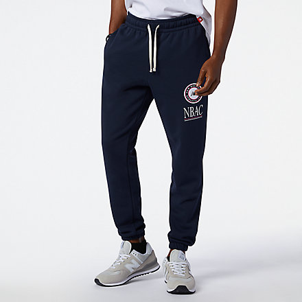 New Balance NB Essentials Athletic Club Fleece Pant, AMP13509ECL image number null