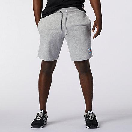 New Balance NB Essentials Fleece 短褲, AMS11502AG image number null