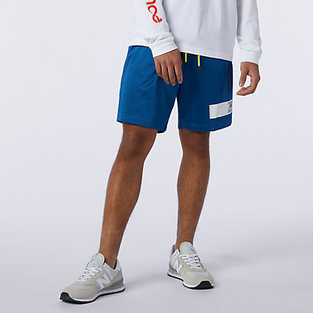 New Balance NB Essentials Mesh Short, AMS11503CNB image number null