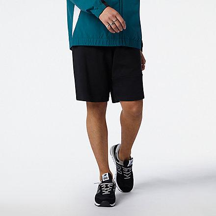 New Balance NB Athletics Higher Learning Fleece 短褲, AMS13502BK image number null