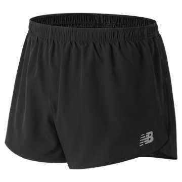 New Balance 男款梭织运动短裤, BK