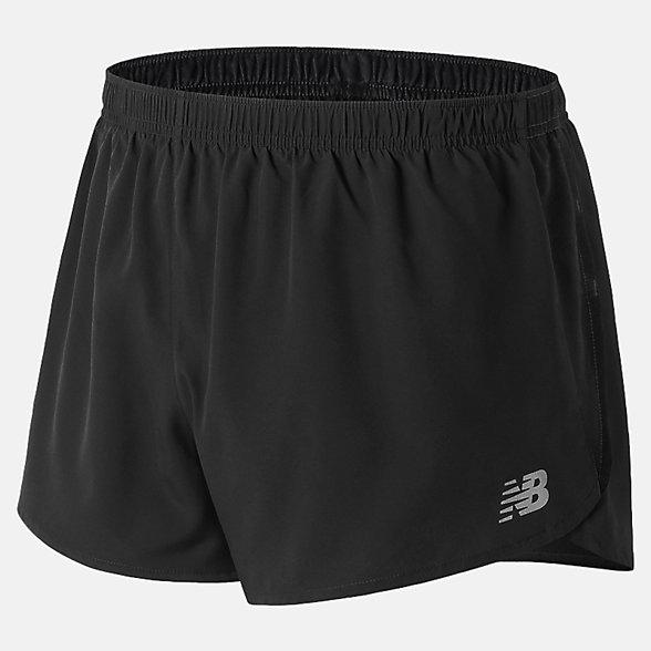 New Balance 男款梭織運動短褲, AMS81277BK