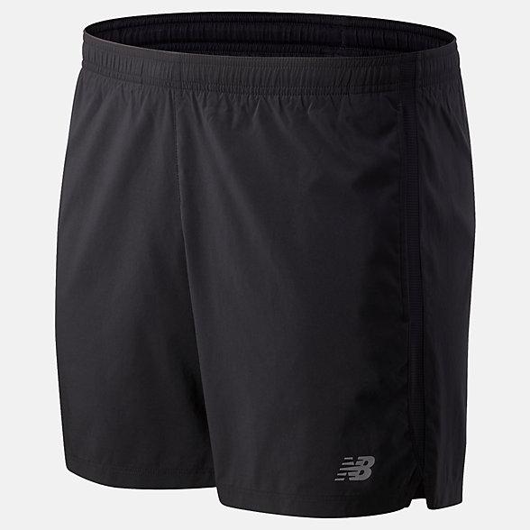 New Balance 男款速干运动短裤, AMS93187BK