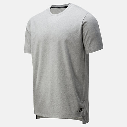 New Balance R.W.T. Heathertech Tee, AMT01055AG image number null
