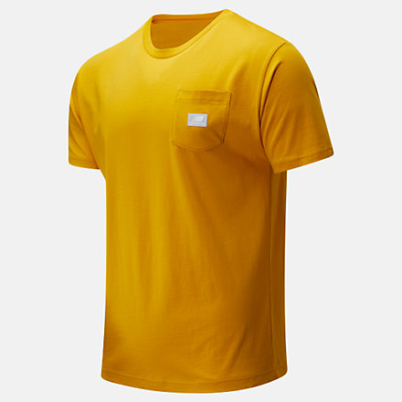 New Balance NB Athletics Pocket T恤, AMT01567VGL image number null