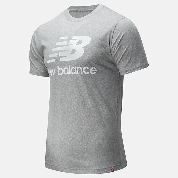 New Balance 男款简约休闲短袖T恤, AMT01575AG