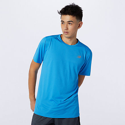 New Balance Accelerate Short Sleeve, AMT03203HLU image number null