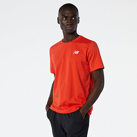 New Balance Heathertech Tee, AMT11070GHP image number null
