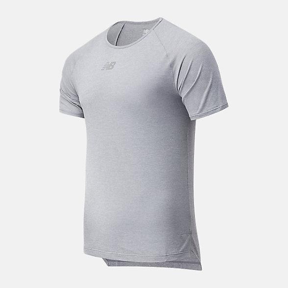 New Balance 男款冰感速干短袖T恤, AMT11252AG