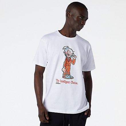 New Balance NB Athletics Levitzo Scientist T恤, AMT11521WT image number null