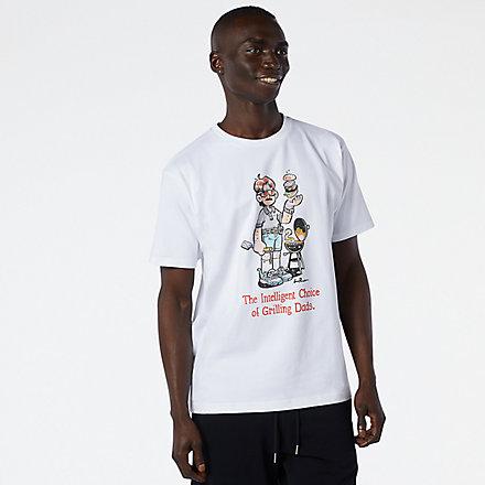 New Balance NB Athletics Levitzo Dad T恤, AMT11522WT image number null