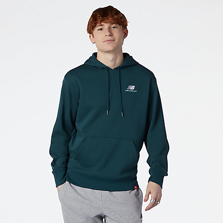 New Balance NB Essentials Embroidered Hoodie, AMT11550TKK image number null
