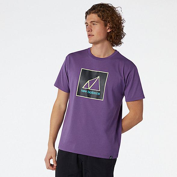 New Balance All Terrain Graphic男款短袖T恤, AMT11585SG6