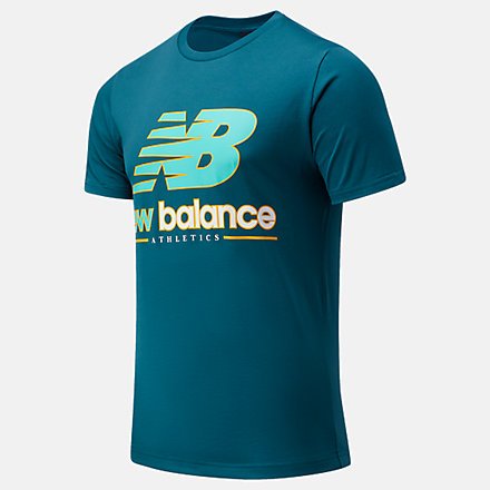 New Balance NB Athletics Higher Learning Logo Tee, AMT13534MTL image number null