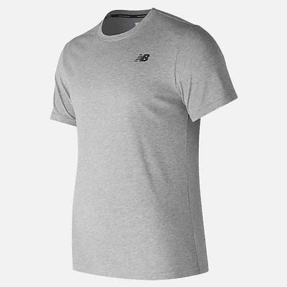 New Balance 男款速干短袖T恤, AMT73080AG