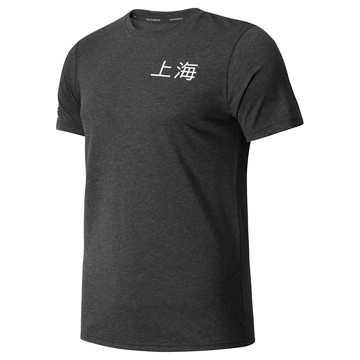 New Balance 上海赛事系列男款速干短袖T恤, BKH