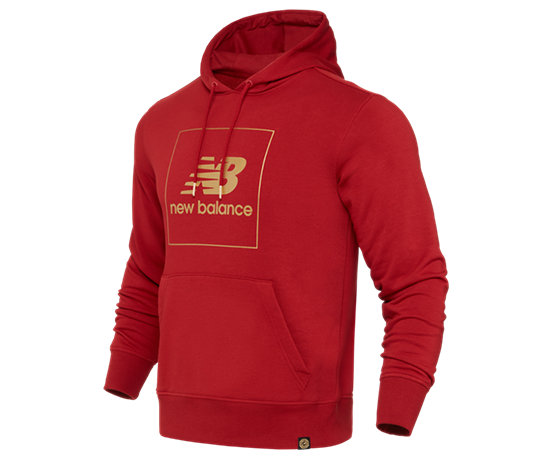 272aea520a661 New Balance NYC Pullover Hoodie, Tempo Red
