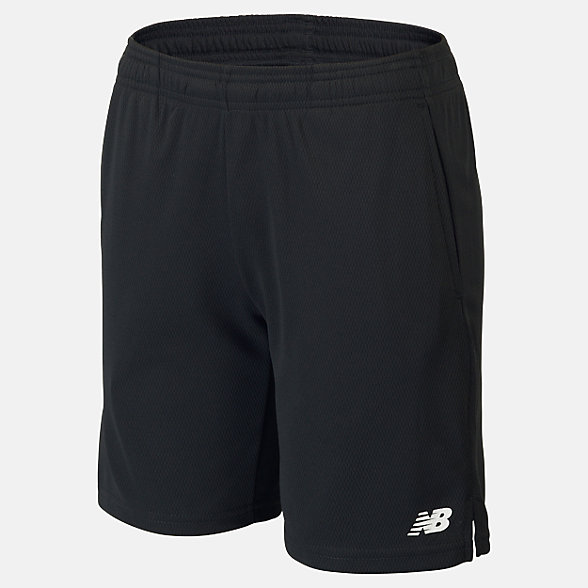 New Balance Boys Knit Training Short, ABS01103BK