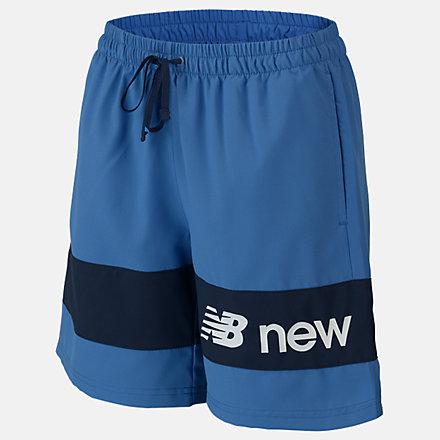 New Balance Boys NB Athletics 7 Woven Short, ABS93512MAK image number null