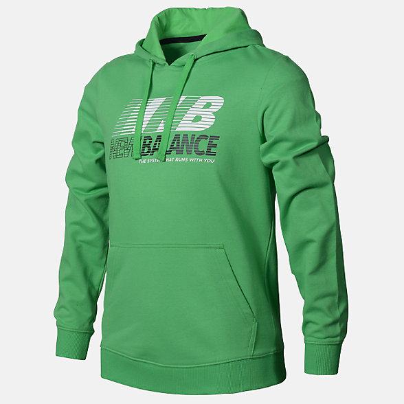 New Balance Boys Speed Hoodie, ABT03501ACG