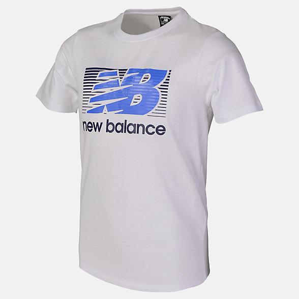 New Balance Boys Ess Danny Tee, ABT81505WT