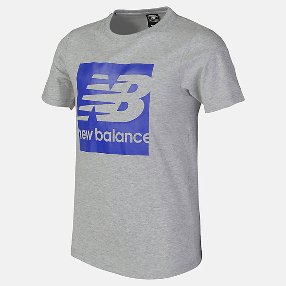 New Balance Boys Core NB Block Tee, ABT81506AG